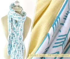 scarves and matching pillows bed of tennessee fabric rag embrace double gauze ruffled scarves fabric depot shannon fabrics