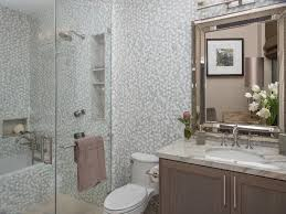 tile floor designs for bathrooms 20 small bathroom before and afters hgtv
