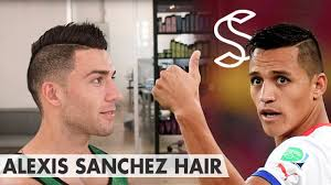 alexis sanchez snapchat alexis sánchez hair professional hairstyling tips for men youtube