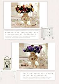fashion countertop vase decoration luxury home ceramics royal