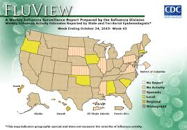 weekly us map influenza summary update seasonal influenza flu