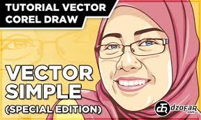tutorial vektor dengan corel tutorial vector corel draw vector simple special edition sang