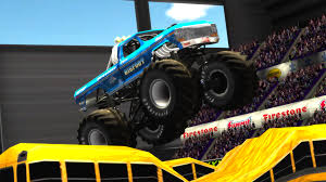 the bigfoot monster truck monster truck destruction roars onto pc mac player attack