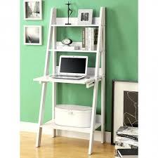 shop monarch specialties i ladder bookcase with drop down desk top