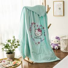 Hello Kitty Bedroom Set Twin Online Get Cheap Turquoise Twin Comforter Aliexpress Com