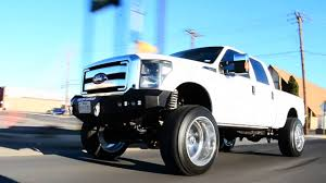Ford F250 Truck Wheels - f250 on 24 by 14 inch american force wheels and a 8inch lift kit