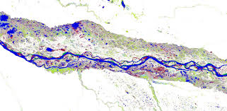 parana river map gorgeous maps how dramatically our planet s surface water
