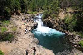 California waterfalls images Mccloud falls visiting all three tiers of the waterfall off jpg