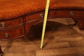kidney shaped executive desk kidney desk mahogany desk high end desk
