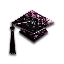 pink graduation cap graduation cap caps icon 064983 icons etc