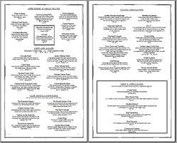 7 best images of free printable menu templates for golf free