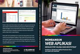 membuat website bootstrap membangun web aplikasi dengan php mysqli dan bootstrap