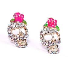 diamond earrings with price 2018 thanksgiving christmas skull earrings diamond earrings