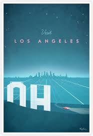Travel Posters images Los angeles vintage travel poster travel poster co jpg