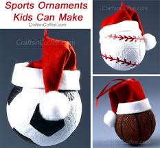 tinsel tuesdays score big with these diy sports ornaments