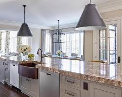 Kitchen Islands With Sink And Dishwasher Long Gray Kitchen Island Island Farmhouse Sink Design Ideas