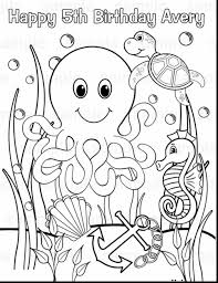 printable coloring pages underwater
