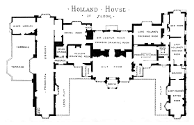 file plan of holland house 1875 first floor png wikimedia commons
