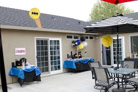 batman baby shower ideas baby batman baby shower party ideas photo 2 of 35 catch my party