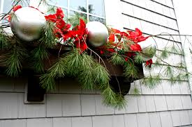 Christmas Windows Decorations Spray Christmas Window Boxes The Lilypad Cottage