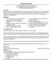 the best resume the 25 best firefighter resume ideas on resume hr