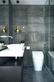 slate tile bathroom designs black slate bathrooms exle of a small minimalist master black
