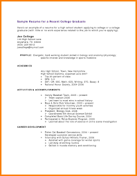 resume examples with little experience resume with little