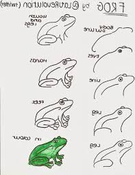 easy drawing of a frog art is the last form of magic how to draw a