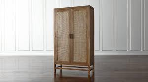 Door Cabinet Grey Wash Two Door Cabinet Crate And Barrel