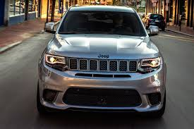 jeep trackhawk 2018 jeep grand cherokee trackhawk first drive review automobile