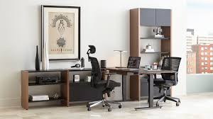 Desk Systems Home Office by Modular Systems Bdi