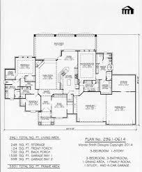 3 Bay Garage Plans by Plan No 2961 0614