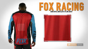 fox motocross gear for men fox racing demo device cycling jersey long sleeve for men