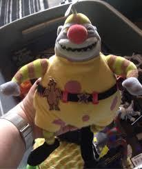 nightmare before plush clown figure disney