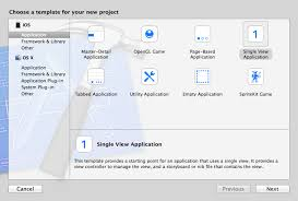 Xcode Ios Project Templates build an ios app design code