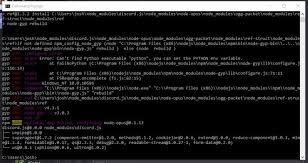 discord javascript error javascript how to install discord js to your node js stack overflow