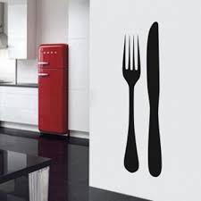 couvert de cuisine stickers couverts intérieur déco