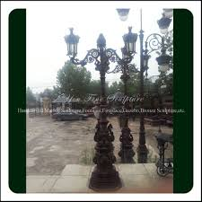 Cast Iron Outdoor Lighting by Antique Outdoor Cast Iron Lamp Post For Sale Buy Antique Cast