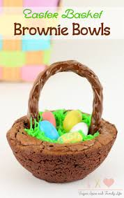 eater baskets easter basket brownie bowls recipe sugar spice and family
