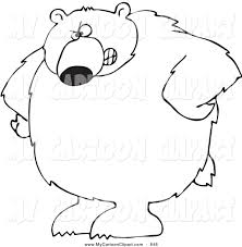 black bear clipart brown bear pencil and in color black bear