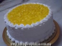 Kek Mango baking temptation tag mango