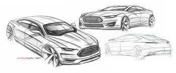 who designed the ford fusion car design 2013 ford fusion energi sketches renders