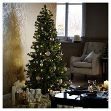 buy 6ft pre lit evergreen tree 150 warm white leds from