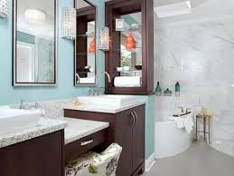 blue bathroom decor ideas blue bathroom ideas and decor with pictures hgtv