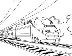 train pictures to print and color kids coloring europe travel
