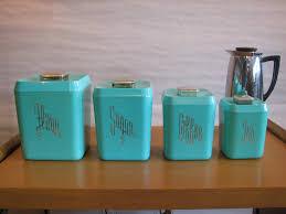 mid century modern vintage 1950s 60s plastic kitchen canisters - Plastic Kitchen Canisters