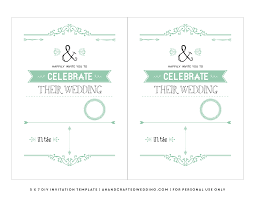 Wedding Template Invitation Free Templates For Wedding Invitations Theruntime Com