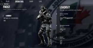 siege en se filtran imágenes de los nuevos operadores de rainbow six siege