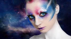 Halloween Makeup Tutorials 2015 Galaxy Space Alien Make Up Face