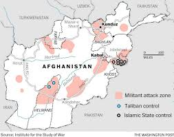 Kabul Map This Map Explains Why Obama Decided To Leave Thousands Of Troops